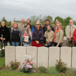 group at graveside