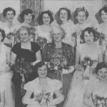 1952 Mayoral ball. Mrs Pethard & Mrs Amer